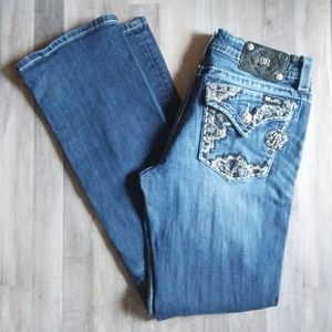 Miss Me Boot Cut Embellished Jeans